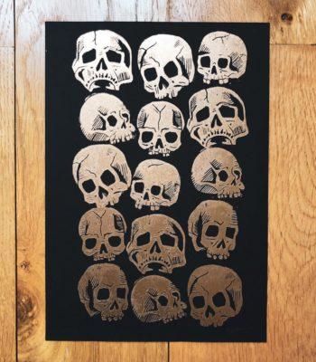 Série Crânes - 01/20