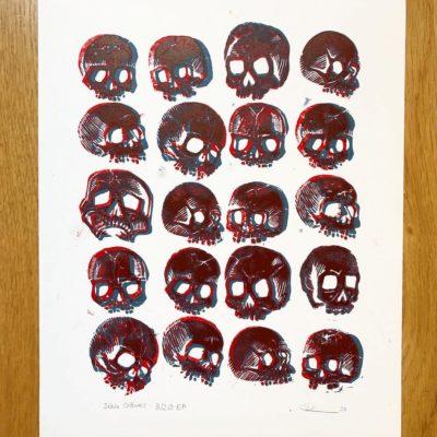 Série Crânes - 03/20
